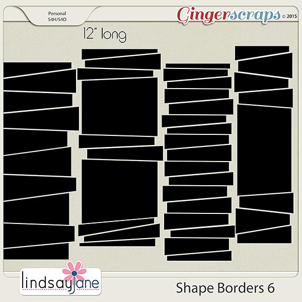 Shape Borders 6 by Lindsay Jane