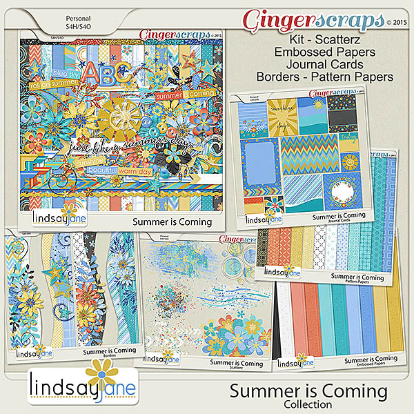 Summer is Coming Collection by Lindsay Jane