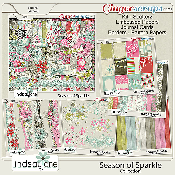Season of Sparkle Collection by Lindsay Jane