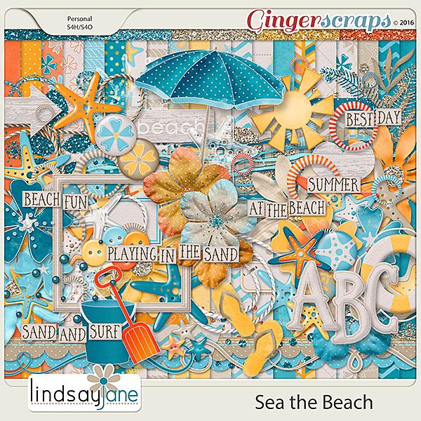 Sea the Beach by Lindsay Jane