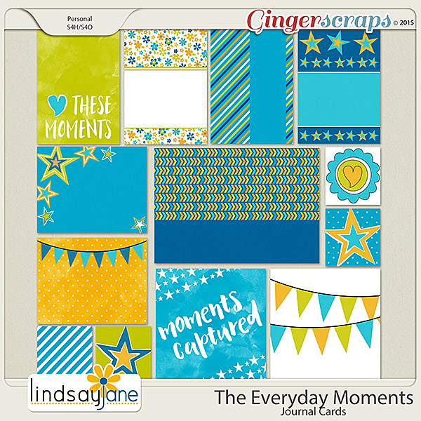 The Everyday Moments Journal Cards by Lindsay Jane