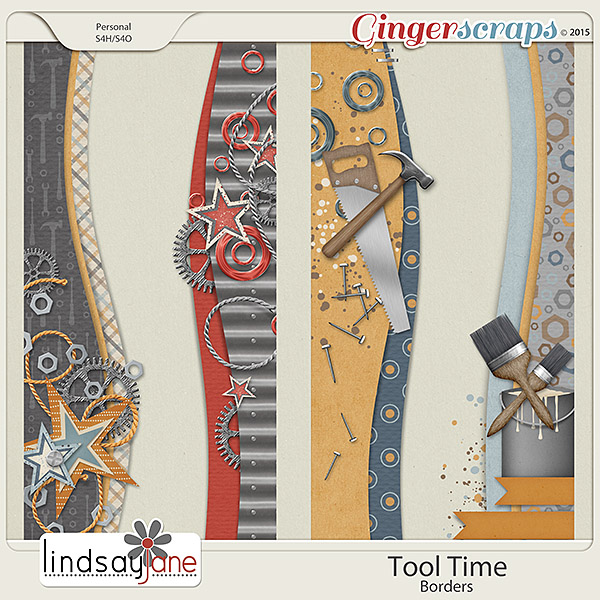 Tool Time Borders by Lindsay Jane