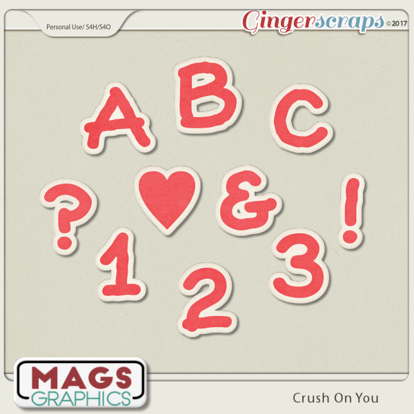 Crush On You ALPHA 1 by MagsGraphics