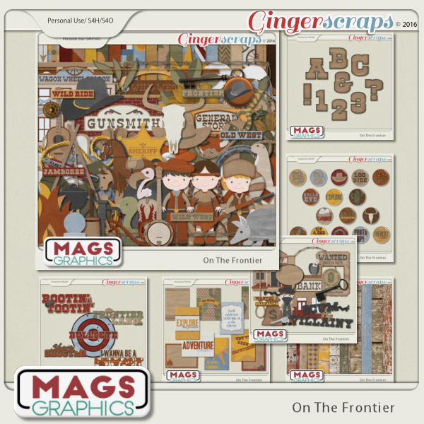 On The Frontier BUNDLE by MagsGraphics
