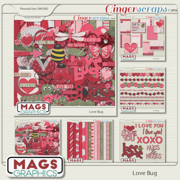 Love Bug BUNDLE by MagsGraphics