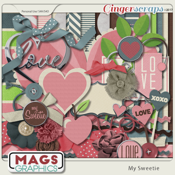 My Sweetie KIT by MagsGraphics