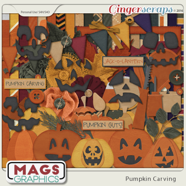 Pumpkin Carving KIT by MagsGraphics