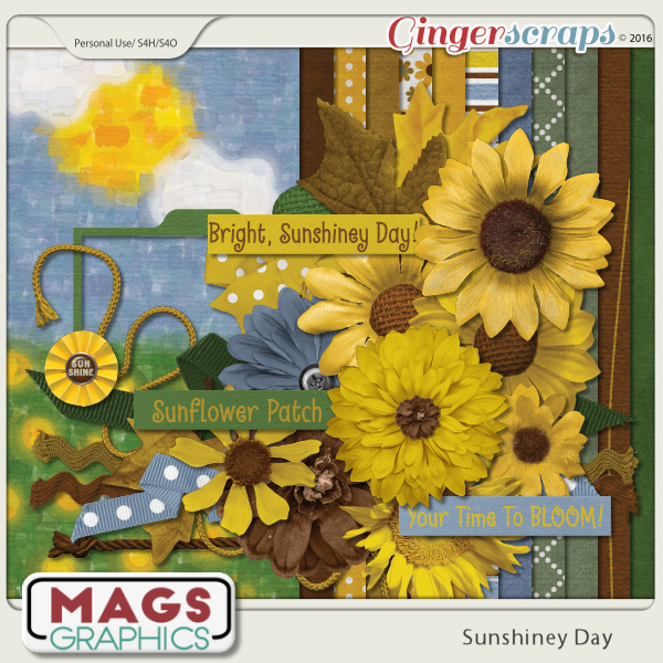 Sunshiney Day Kit by MagsGraphics