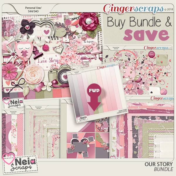 Our Story - Bundle - by Neia Scraps