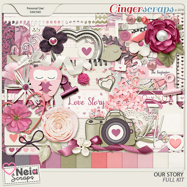 Our Story - Full Kit - by Neia Scraps