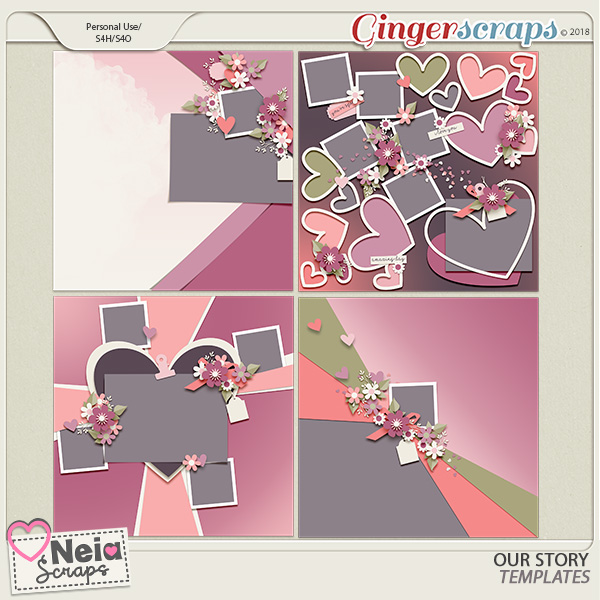 Our Story - Templates - by Neia Scraps