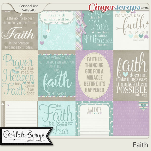 Faith Journal and Pocket Scrap Cards