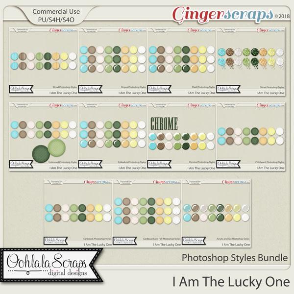 I Am The Lucky One CU Photoshop Styles Bundle