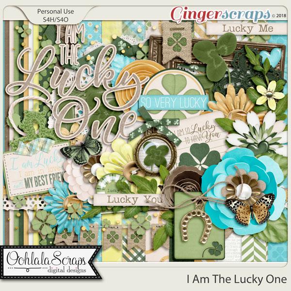 I Am The Lucky One Digital Scrapbook Kit
