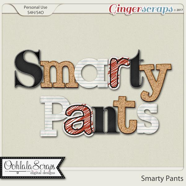 Smarty Pants Alphabets