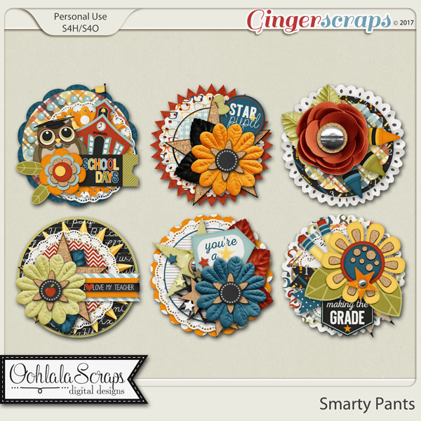 Smarty Pants Cluster Seals