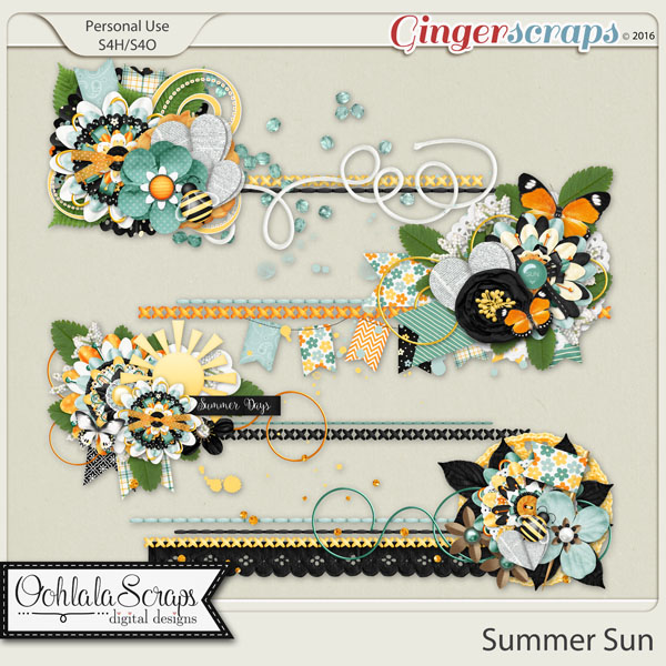 Summer Sun Clustered Stitches