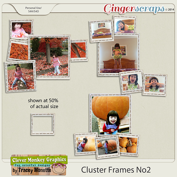 Cluster Frames No2 by Clever Monkey Graphics