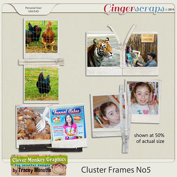 Cluster Frames No5 by Clever Monkey Graphics