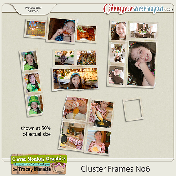 Cluster Frames No6 by Clever Monkey Graphics