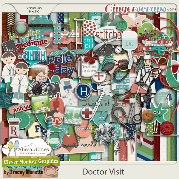 Doctor Visit by Clever Monkey Graphics and Alissa Jones