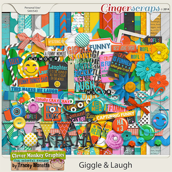 Giggle & Laugh by Clever Monkey Graphics