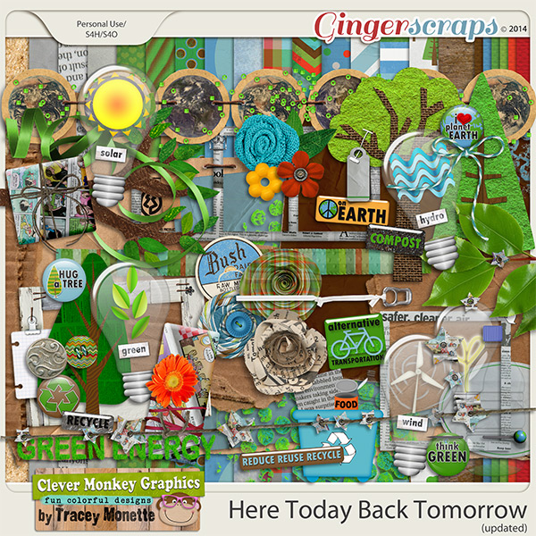 Here Today Back Tomorrow by Clever Monkey Graphics