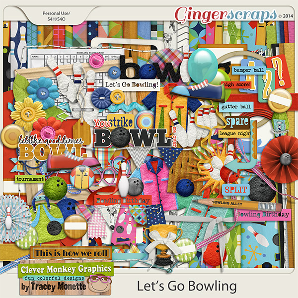 Lets Go Bowling by Clever Monkey Graphics
