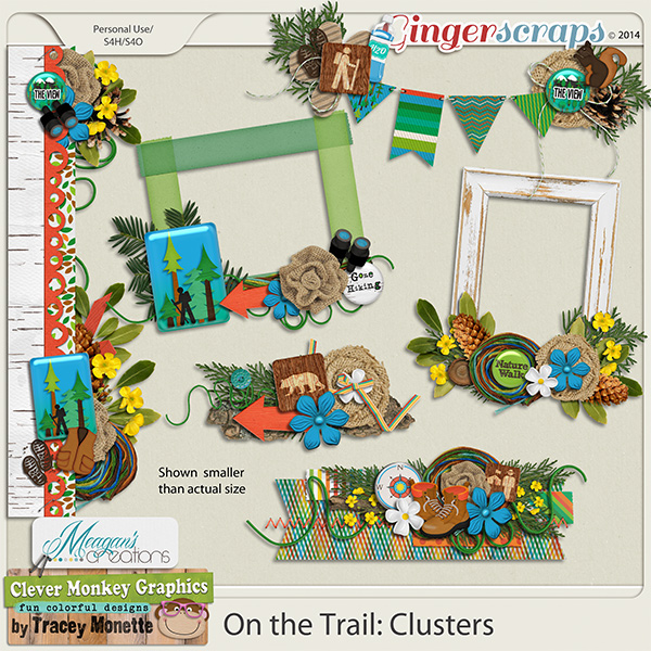 On the Trail: Clusters by Clever Monkey Graphics & Meagans Creations