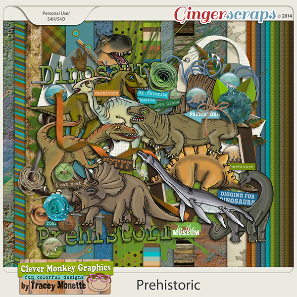 Prehistoric by Clever Monkey Graphics