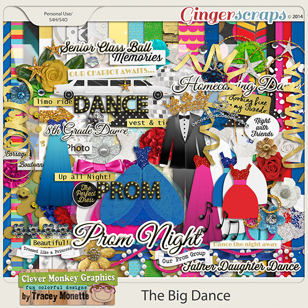 The Big Dance by Clever Monkey Graphics