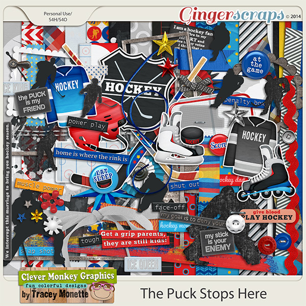 The Puck Stops Here by Clever Monkey Graphics