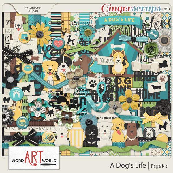 A Dog's Life Page Kit
