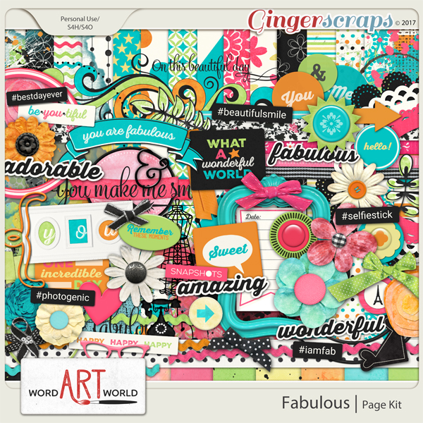 Fabulous Page Kit