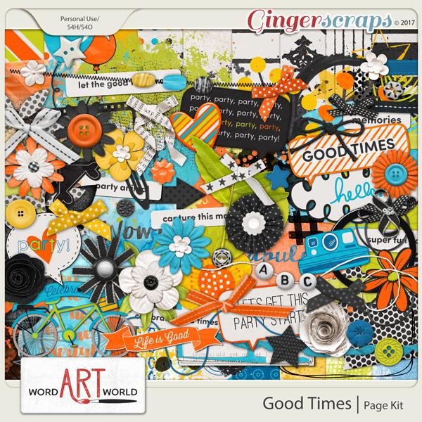 Good Times Page Kit
