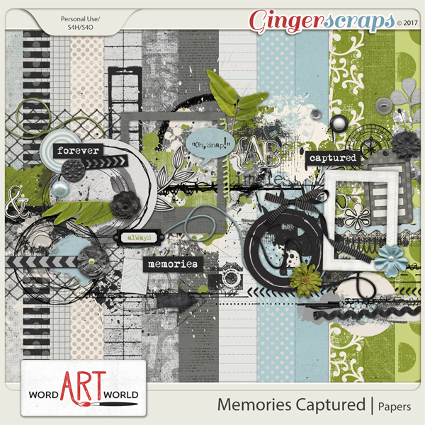 Memories Captured Page Kit
