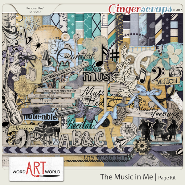 The Music in Me Page Kit
