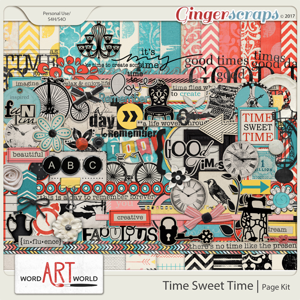 Time Sweet Time Page Kit