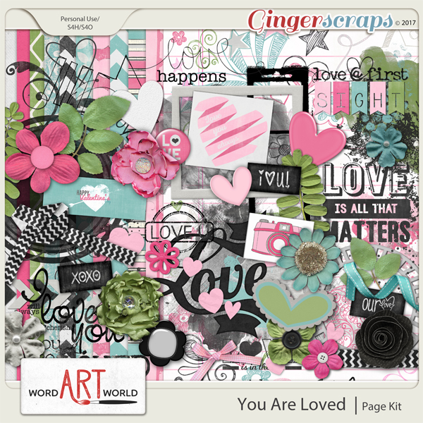 You Are Loved Page Kit