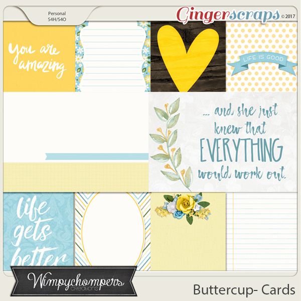 Buttercup- Cards