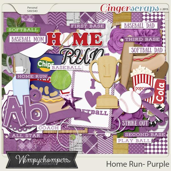 Home- Run- Purple