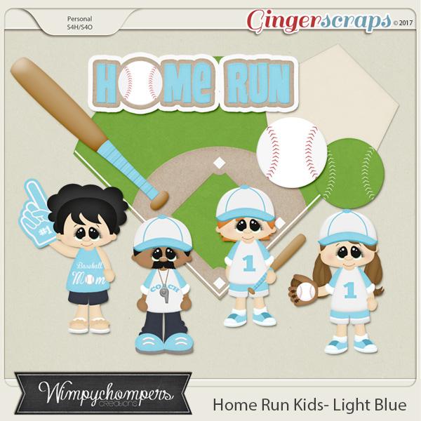 Home Run Kids- Light Blue