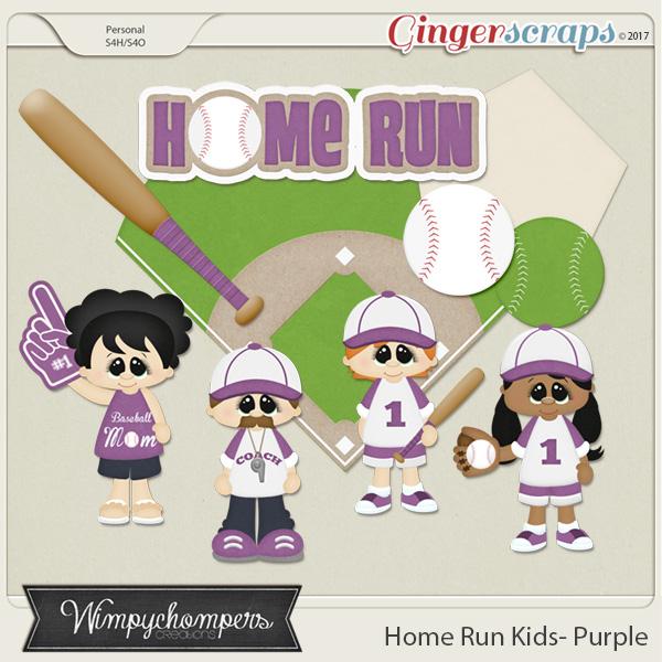 Home Run Kids- Purple