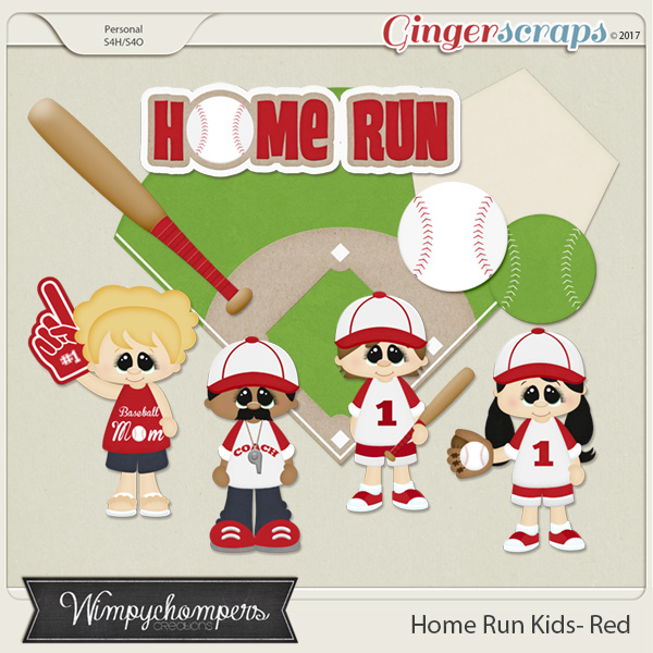 Home Run Kids- Red