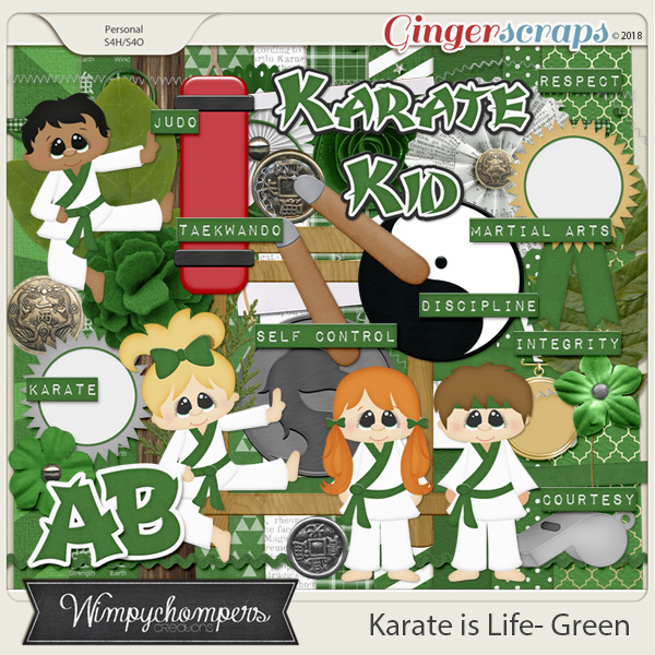 Karate is Life- Green