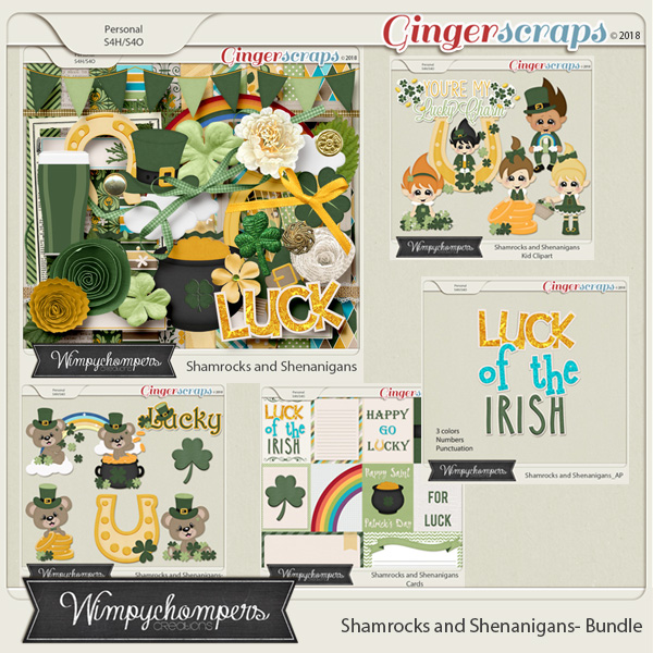 Shamrocks and Shenanigans- Bundle