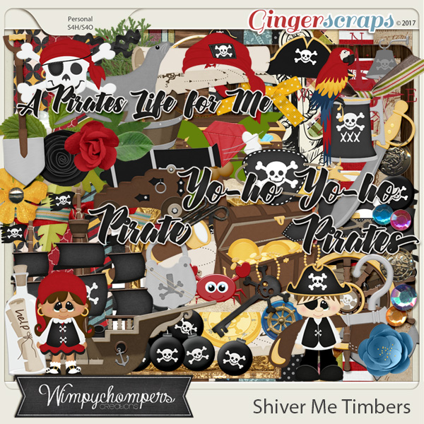 Shiver Me Timbers- Kit