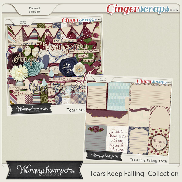 Tears Keep Falling- Collection