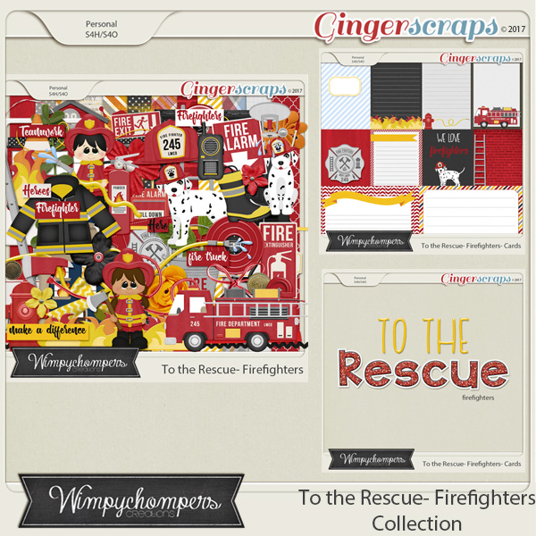To the Rescue- Firefighters Collection