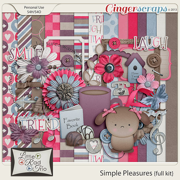 Simple Pleasures {full kit}
